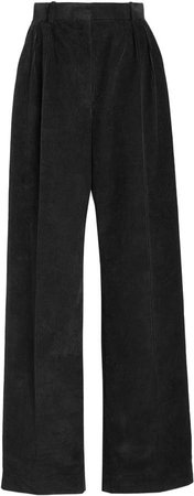 The Row Chandler Cotton Corduroy Wide-Leg Pants