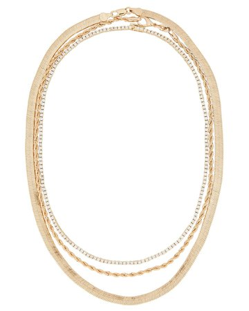 Le Brunch Layered Chain Necklace