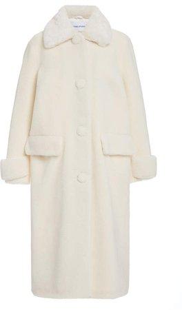 Stand Studio Karissa Faux Shearling Teddy Coat