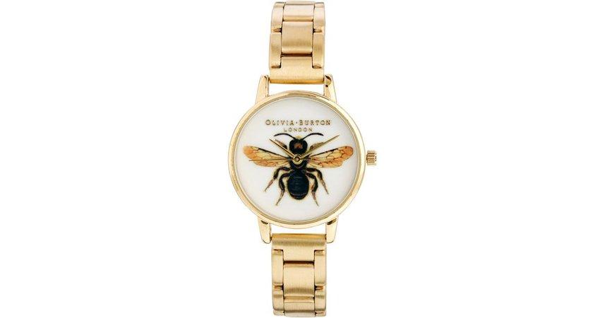 olivia burtong gold bee watch