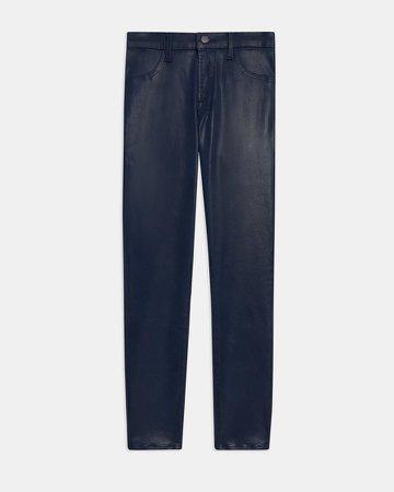 Alana High Rise Cropped Skinny Jean in Denim