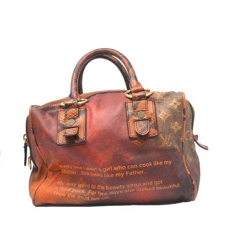 Louis Vuitton Richard Prince MANCRAZY Printemps Jokes Handbag For Sale at 1stdibs