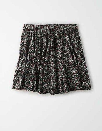 AE Floral Flutter Mini Skirt