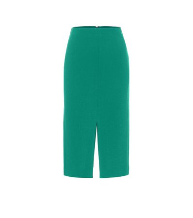 Exclusive To Mytheresa – Moka Wool-Crêpe Pencil Skirt - Roland Mouret | Mytheresa