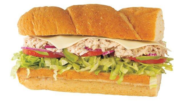 Subway Sandwich   Tuna