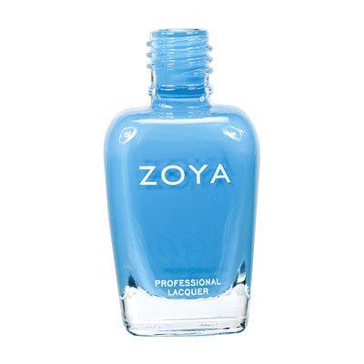 Light-Blue Nail Polish Zoya