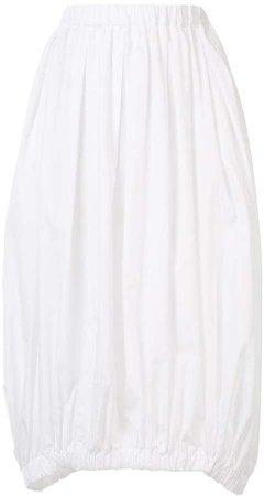 Pleated Elasticated Waist Skirt