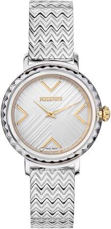 Chevron Joyful Bracelet Watch, 37mm