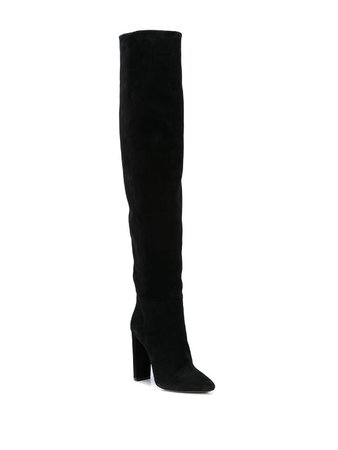 Saint Laurent 76 over-the-knee Boots - Farfetch
