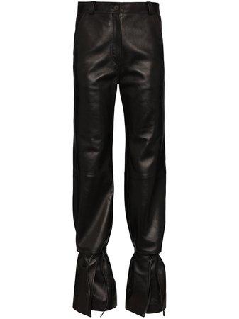 Loewe Pantalon Évasé à Taille Haute - Farfetch