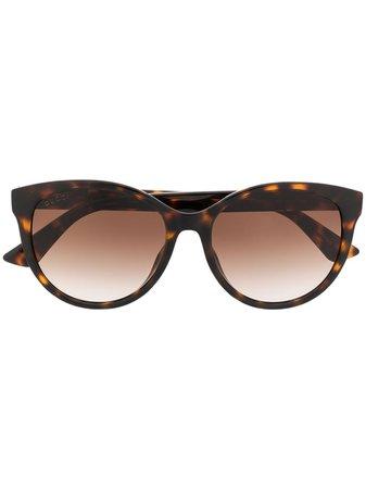 Gucci Eyewear GG0636SK soft-round Sunglasses - Farfetch