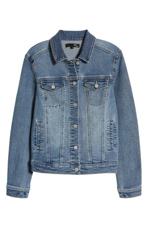 1822 Denim Re:Denim Recycled Denim Trucker Jacket (Mariah) | Nordstrom