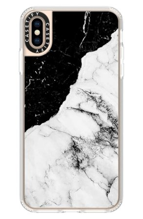 Casetify Black & White Marble iPhone Xs, X Max & XR Case   Nordstrom