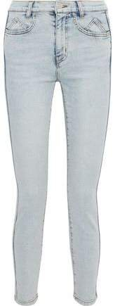 The 7-pocket Cropped Mid-rise Skinny Jeans