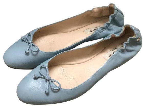 Ballet Flats Periwinkle Blue