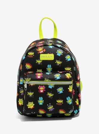 Loungefly Disney Pixar Remix Alien Mini Backpack