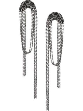 Fabiana Filippi draped-bead Earrings - Farfetch