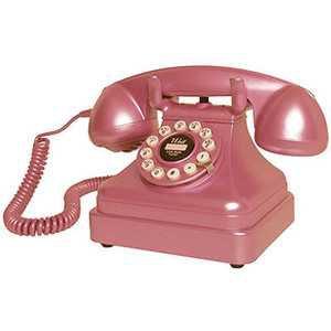 Pink Retro Telephone
