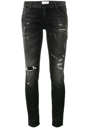 Faith Connexion Ripped Skinny Jeans - Farfetch