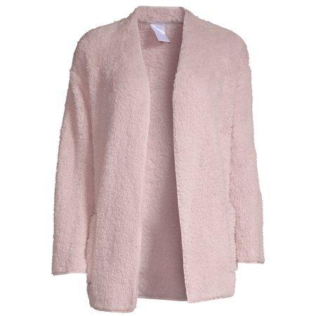 Secret Treasures - Secret Treasures Essentials Bed Jacket (Women's and Women's Plus) - Walmart.com pink