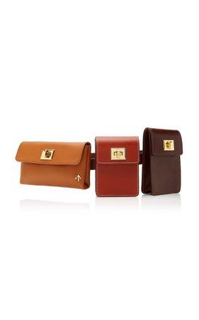 Tech Leather Belt Bag by Manu Atelier   Moda Operandi
