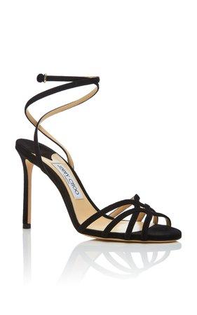 Jimmy Choo Mimi Suede Sandals