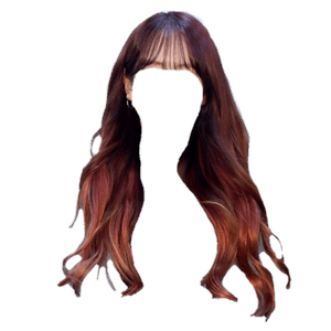 Brown and Red Hair PNG