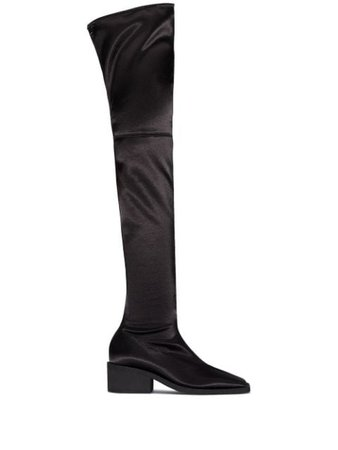 MM6 Maison Margiela 55mm thigh-high Boots - Farfetch