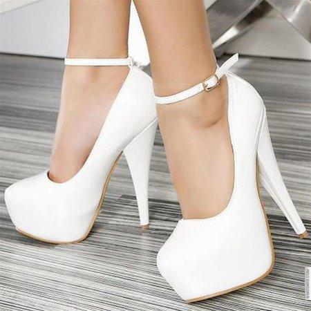 s4zr5e-l-610x610-shoes-high+heels-white-white+high+heels-strapped+high+heels-white+pumps-pumps-white+shoes-white+pumps+strap-heels-platform+high+heels-ankle+strap+heels.jpg (610×610)