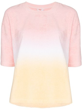 Terry Terry Gradient Cotton T-shirt - Farfetch