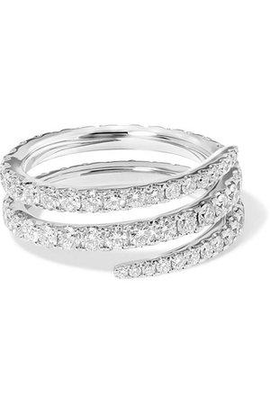 Anita Ko   Coil 18-karat white gold diamond ring   NET-A-PORTER.COM