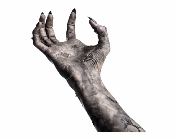 Creepy Witch Png Image Background - Scary Hand Transparent Background, Transparent Png Download For Free #278342 - Trzcacak