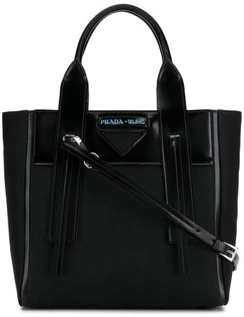 logo patch tote
