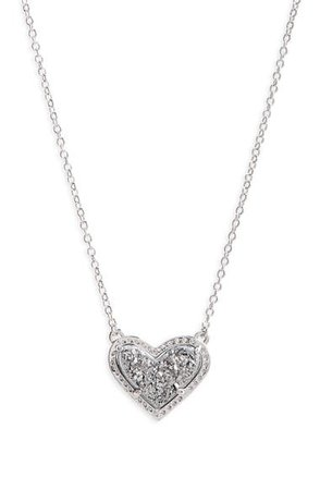 Kendra Scott Ari Heart Pendant Necklace | Nordstrom