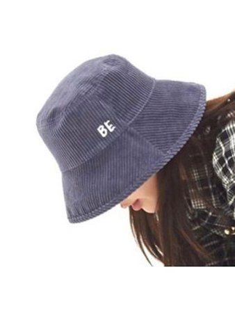 Be Born Of Two Way Corduroy Bucket Hat