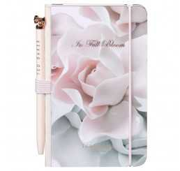 vintage notebook and pen set roses - Google Search