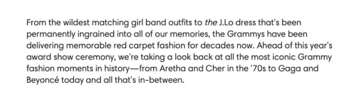 Grammy article