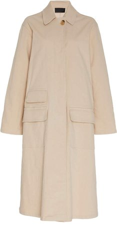 Samuel Cotton-Blend Duster Coat