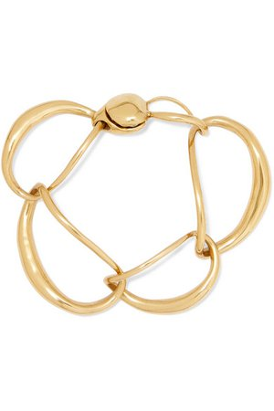 Dinosaur Designs | Liquid Chain gold-plated bracelet | NET-A-PORTER.COM