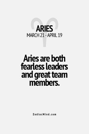 aries leader