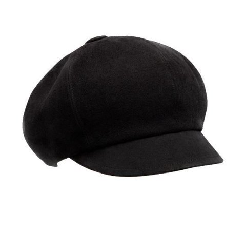 dior • Black Baker Boy Cap