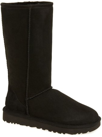 Classic II Genuine Shearling Lined Tall Boot