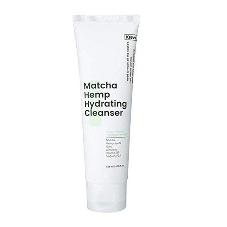 Amazon.com : Krave Beauty Matcha Hemp Hydrating Cleanser 4.05oz K-beauty : Beauty