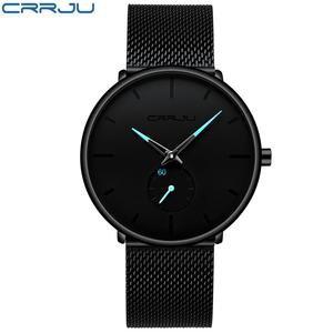 Crrju Top Brand Luxury Watches Men Stainless Steel Ultra Thin Classic – Rockin Docks Deluxephotos