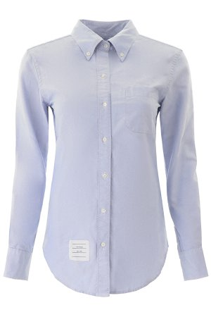 Thom Browne Shirt With Tricolour Stripe