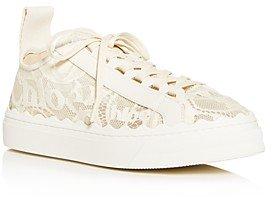 Women's Lauren Lace Low-Top Sneakers
