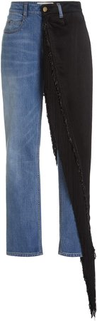 Hellessy Cy Straight Leg Embellished Jeans