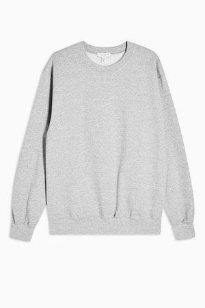 Grey Everyday Sweatshirt | Topshop