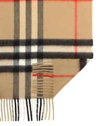 Giant Check Cashmere Scarf | Burberry - Mytheresa