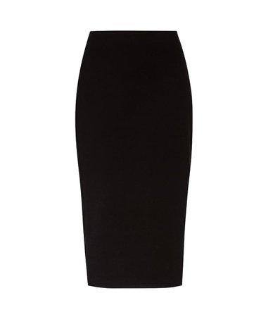 Rabina Scuba-Jersey Pencil Skirt